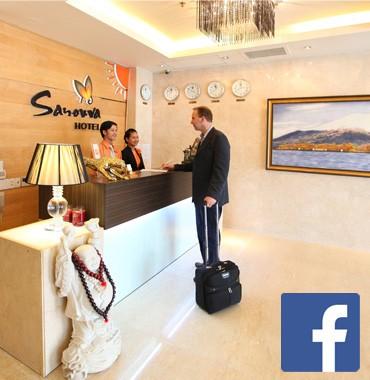 Trang chủ Facebook Khách sạn Sanouva Sài Gòn