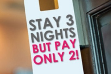 STAY 3 NIGHTS PAY 2 NIGHTS