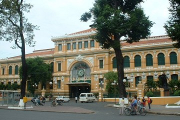 SAIGON CENTRAL POST OFICE
